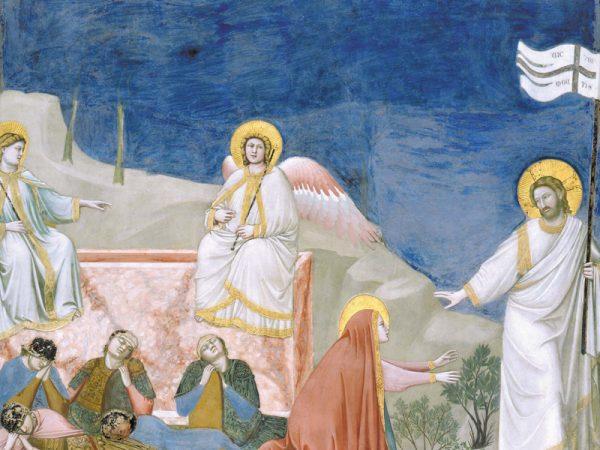 Pascua Giotto resurrección
